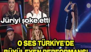 O Ses Türkiye'de  Tuğçe Gendigelen Fırtınası